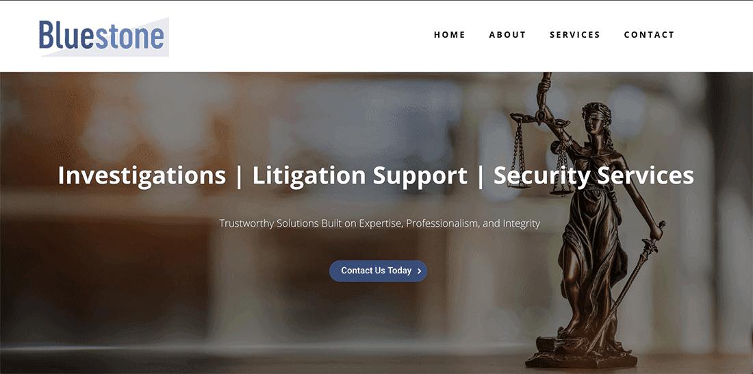 Bluestone Investigative Home Page
